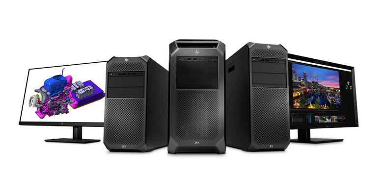 Yeni HP Z8, Z6, Z4; Z31x ve Z27n Monitörler